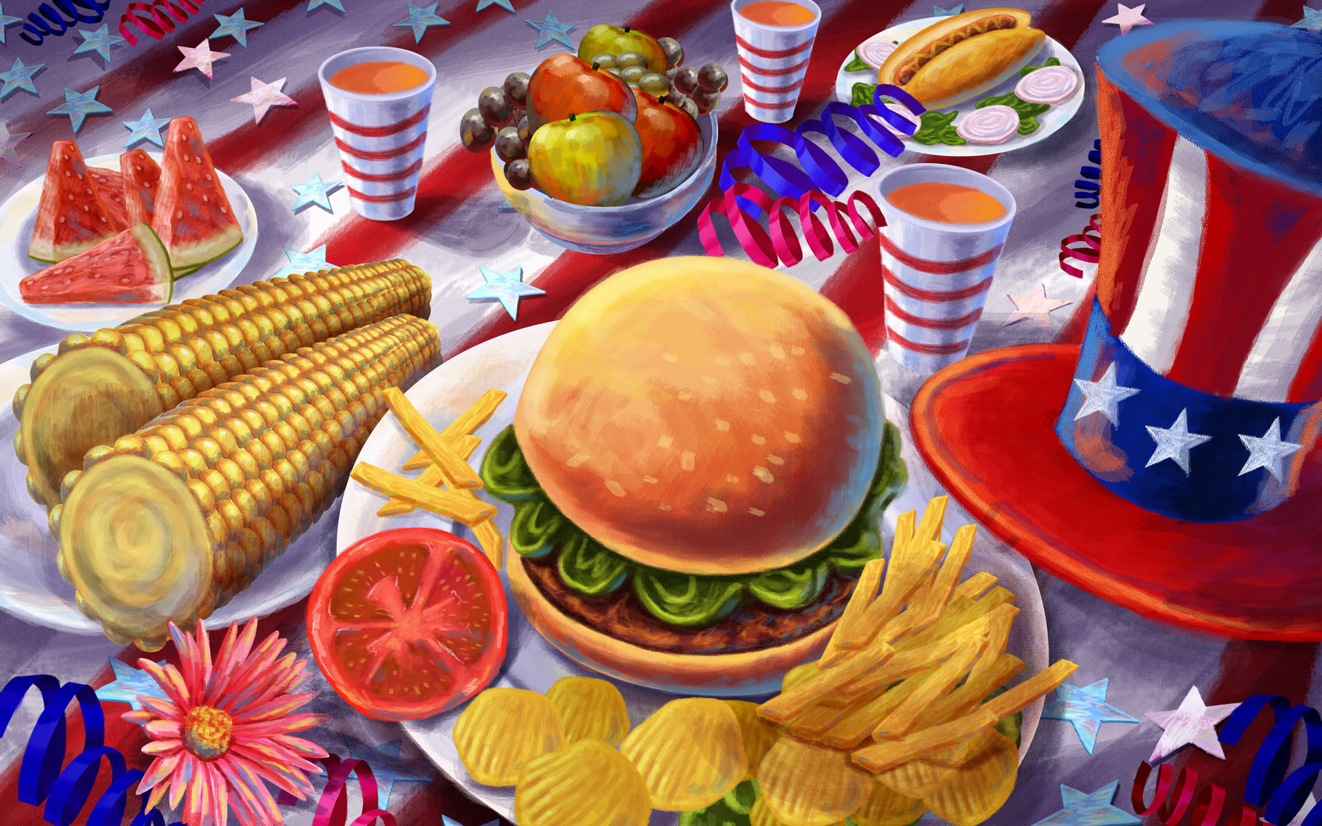 Nibbles Of Tidbits A Food BlogHoliday Ideas Archives Nibbles Of - United states of america cuisine