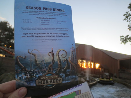 Season Dining Pass