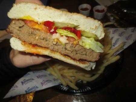 Knott's Cheeseburger
