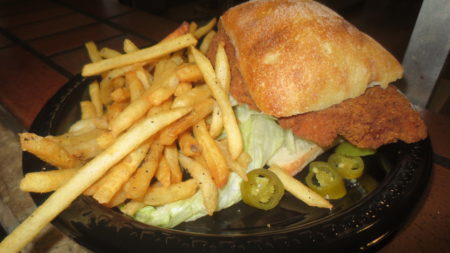 Knott's Spicy Chicken Sandwich