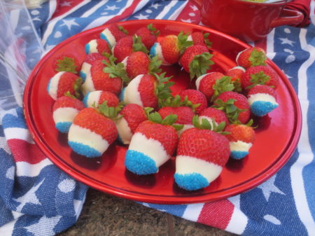 July 4th Strawberries