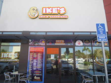 Ike's in Irvine